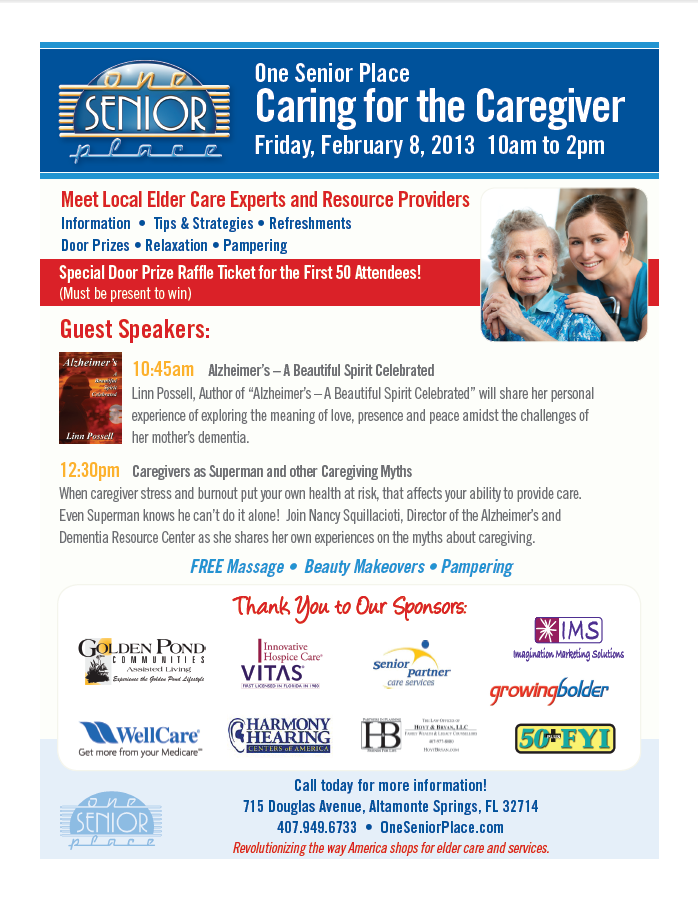OSP Caring for the Caregiver 020813