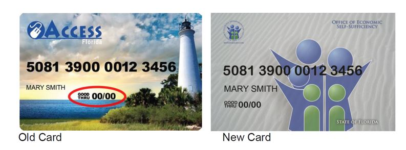 Food Stamps Card Arrival